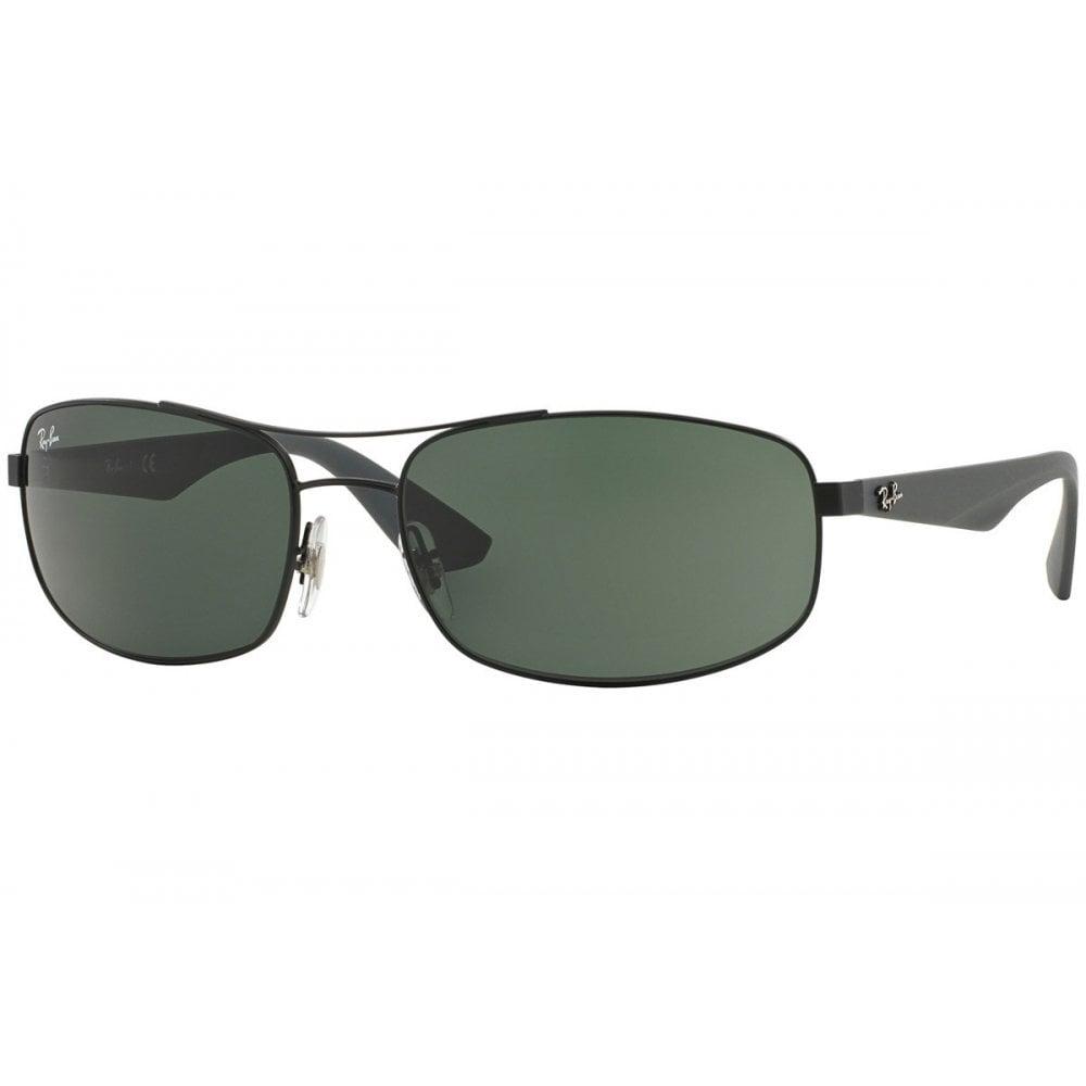 71cd4c92645 Ray-Ban RB3527 Sunglasses Matte Black RB3527 006 71