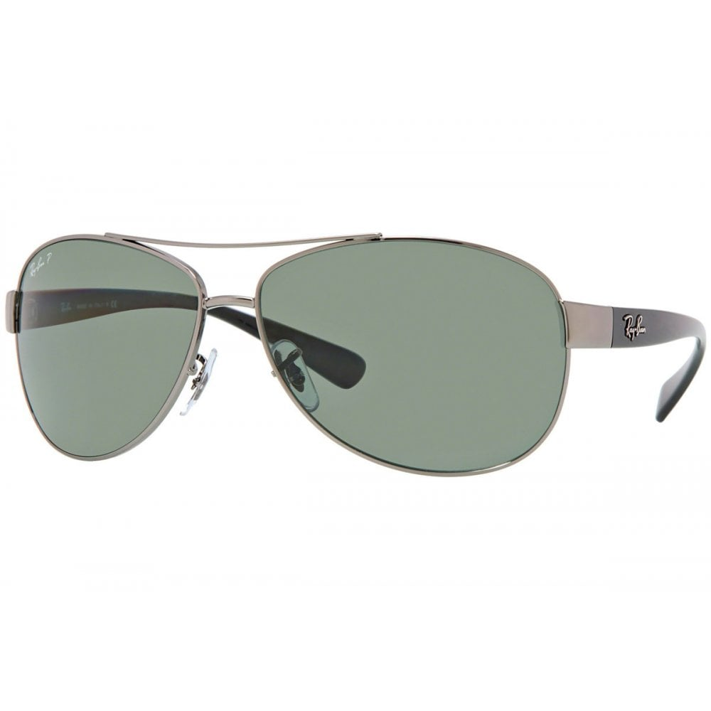 4a3f41c1ca Ray-Ban RB3386 Sunglasses Gunmetal RB3386 004 9A Large