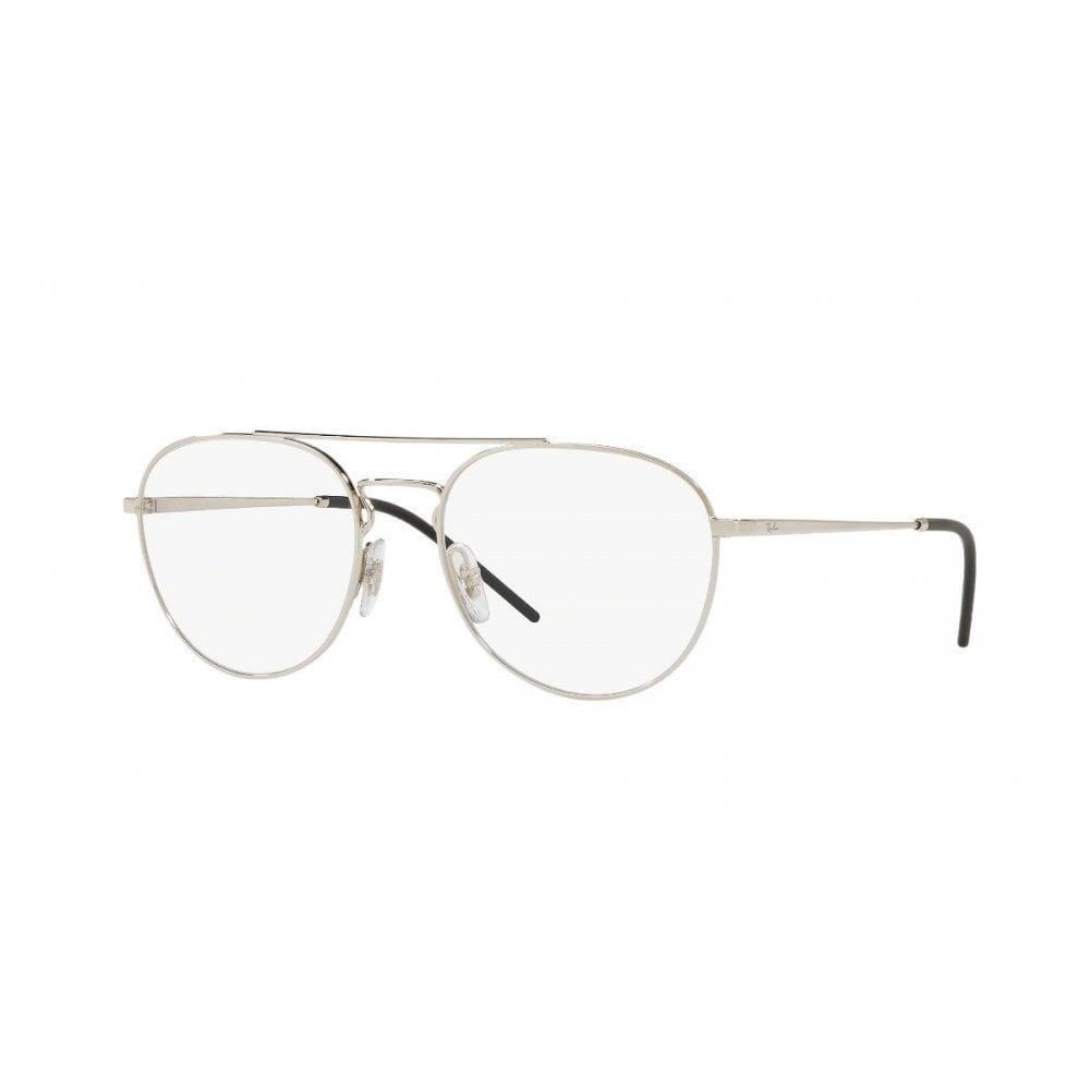 498026e746 Ray-Ban RB6414 Unisex Prescription Frame Silver RB6414 2501 53