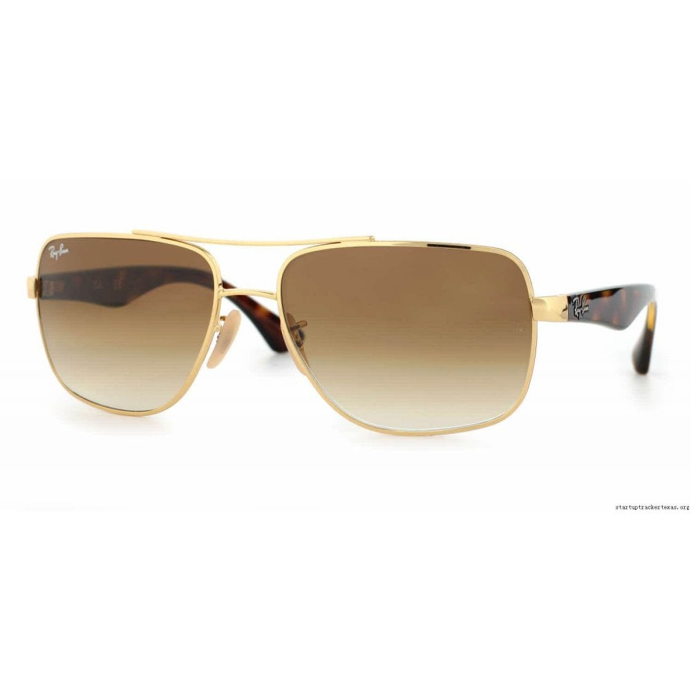 2e0b13f0aef34 Ray-Ban RB3483 Sunglasses Gold RB3483 001 51