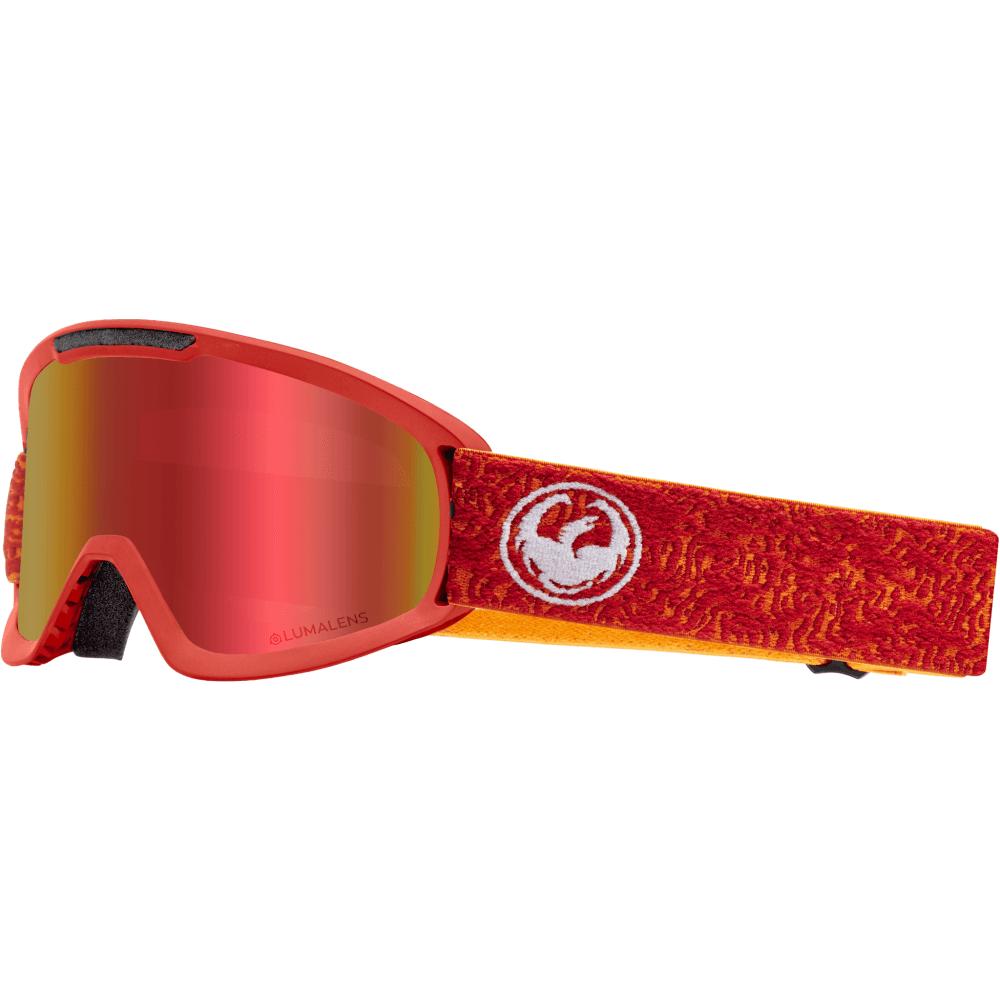 21819edb4110 Dragon Alliance Lumalens DX2 Snow Goggles Maze 34800-700