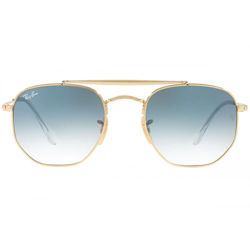 54af9bc2654bc Ray-Ban Marshal Sunglasses Gold RB3648 001 3F Large