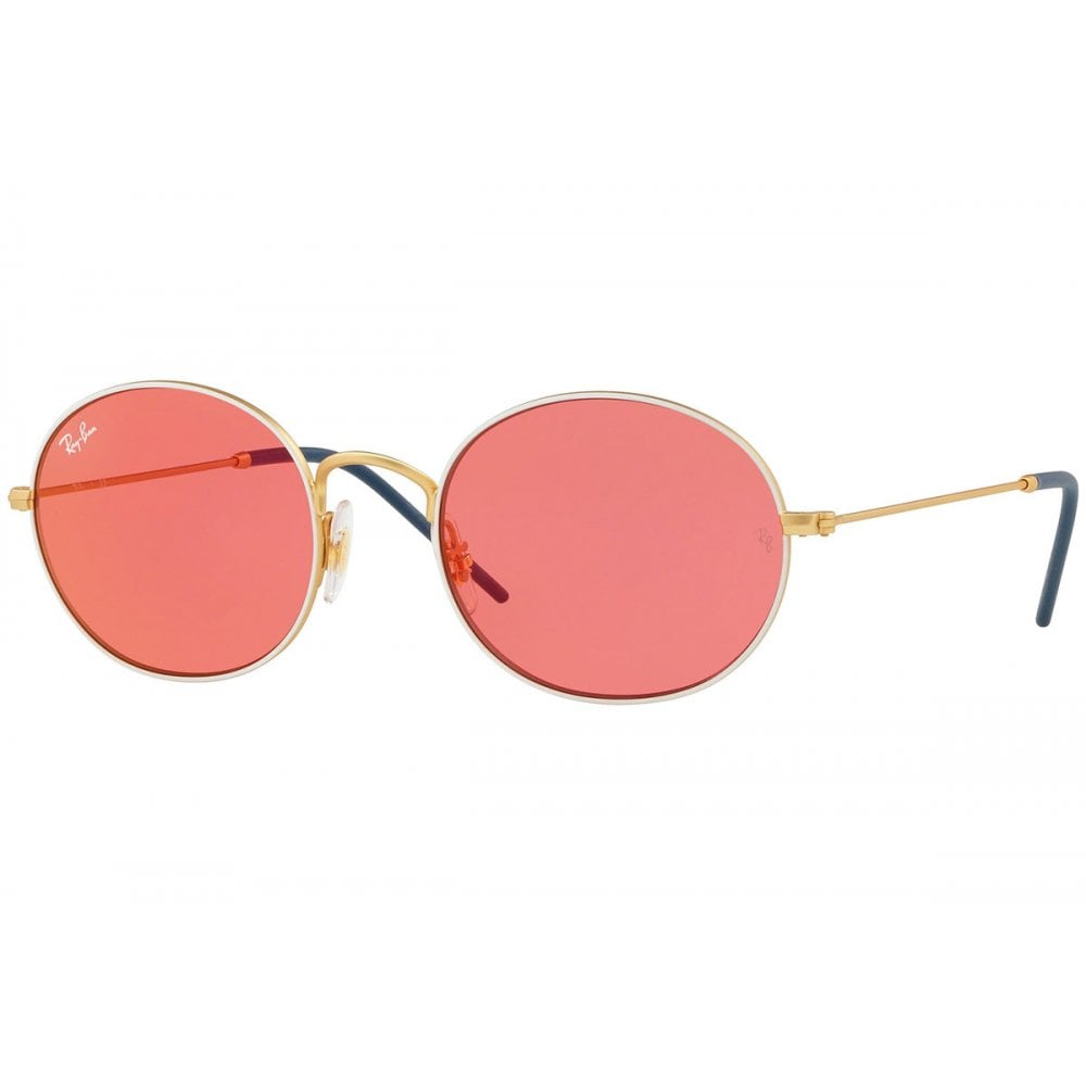 8f717abb26 Ray-Ban Beat Sunglasses White Gold RB3594 9093C8
