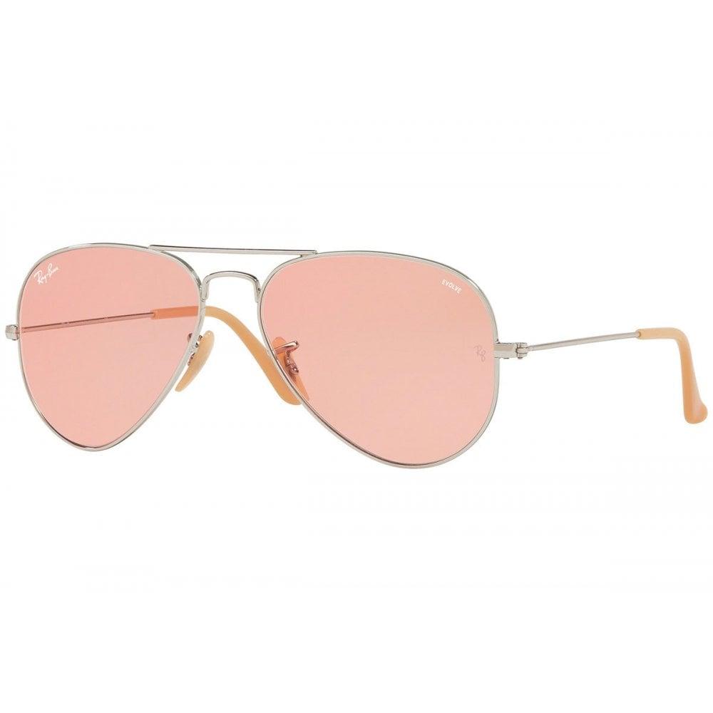 b8404a5055654 Ray-Ban Aviator Evolve Sunglasses Silver RB3025 9065V7