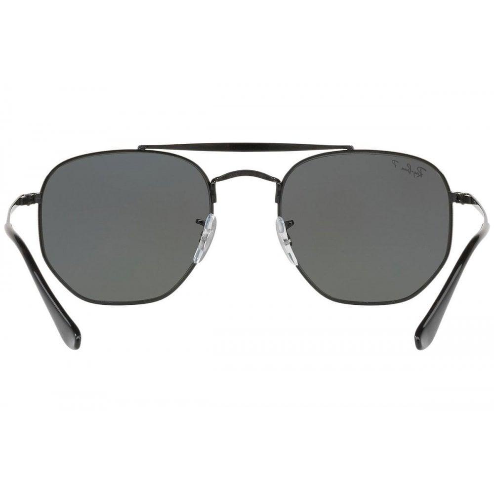 2ad6e8411f09f Ray-Ban Marshal Sunglasses Black RB3648 002 58 Large