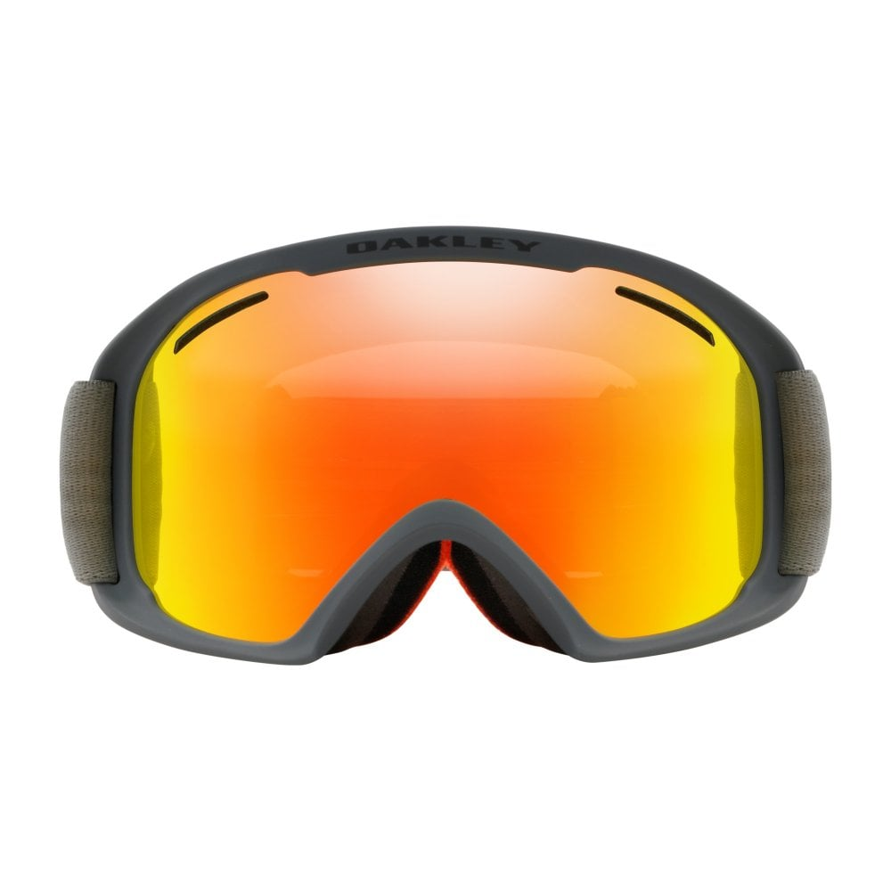 48903be3aa Oakley O Frame 2.0 XL Snow Goggles Forged Iron Brush OO7045-42
