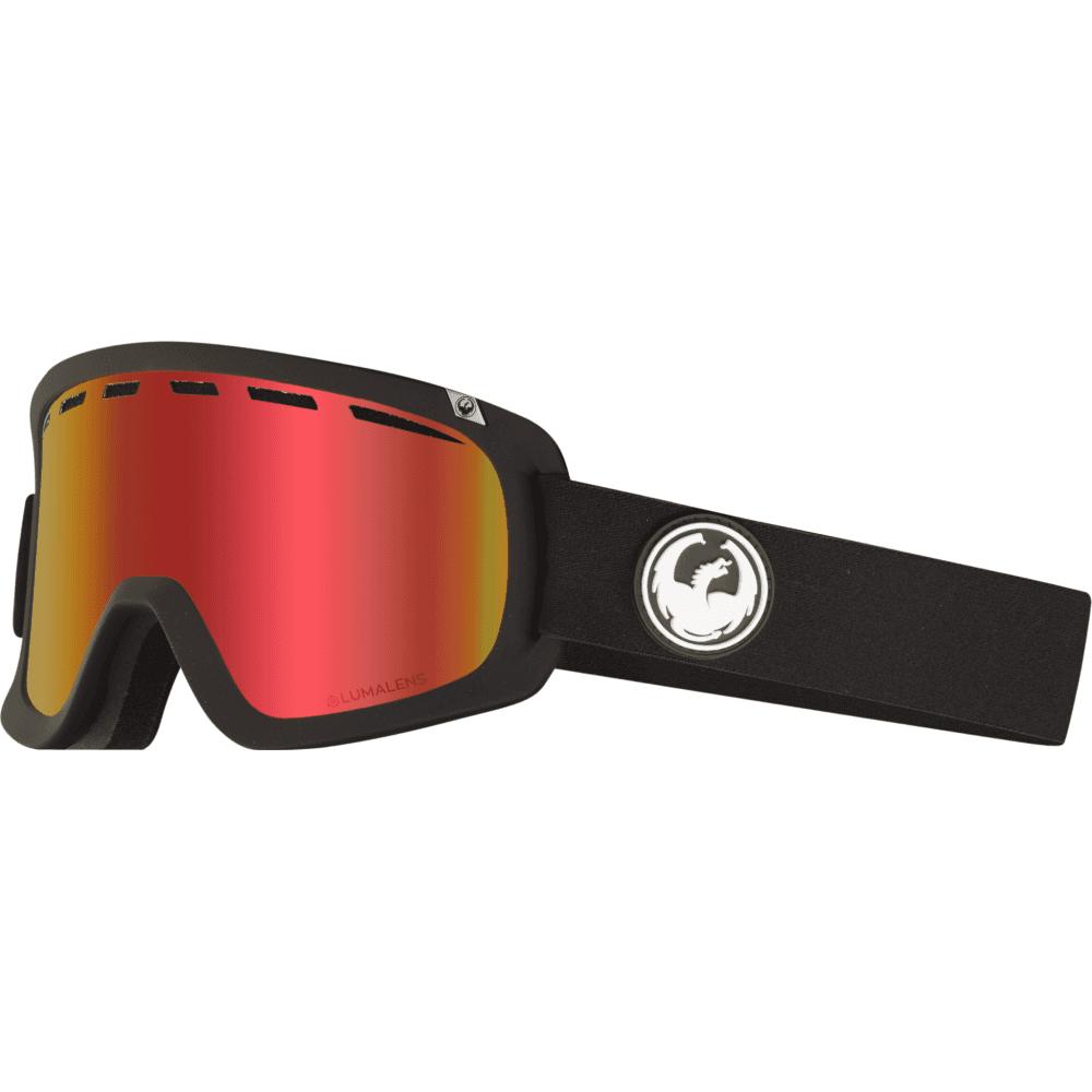 f789ea78a70 Dragon Alliance Lumalens D1 OTG Snow Goggles Black 34798-332