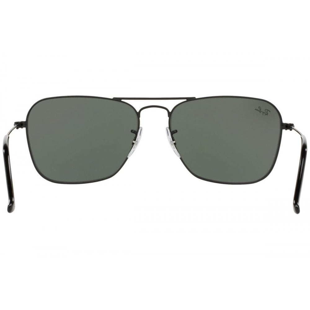 25f96bd628f Ray-Ban Caravan Sunglasses Matte Black RB3136 W3338 Small