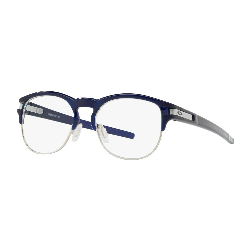 a26a62dd78 Oakley Latch Key RX Men s Prescription Glasses 50 Polished Ice OX8134-0350