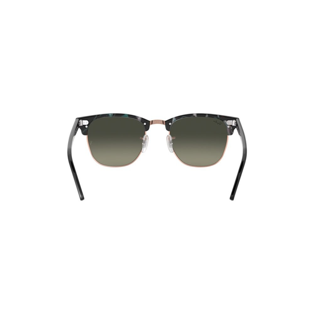 88d0100e9a6 Ray-Ban Clubmaster Fleck Sunglasses Spotted Grey Green RB3016 125571