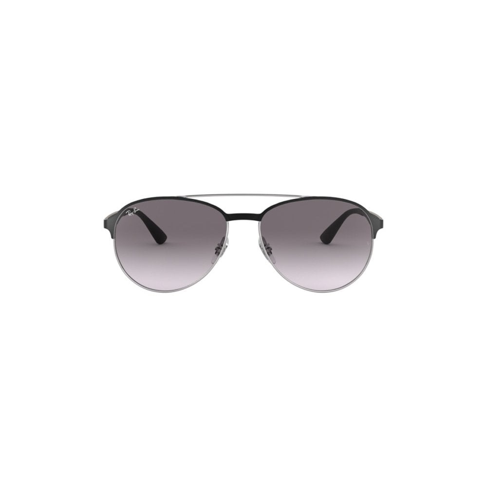 390f02b536e Ray-Ban RB3606 Sunglasses Silver On Top Matte Black RB3606 90918G
