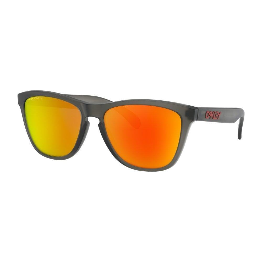 ade0764ee9 Prizm Oakley Frogskins Sunglasses Matte Grey Smoke OO9013-F8