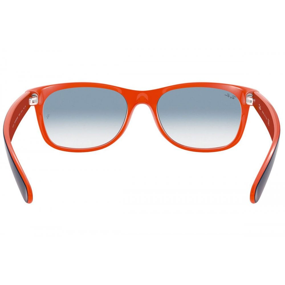 0d2a11695 Ray-Ban New Wayfarer Sunglasses Blue/Orange RB2132 789/3F