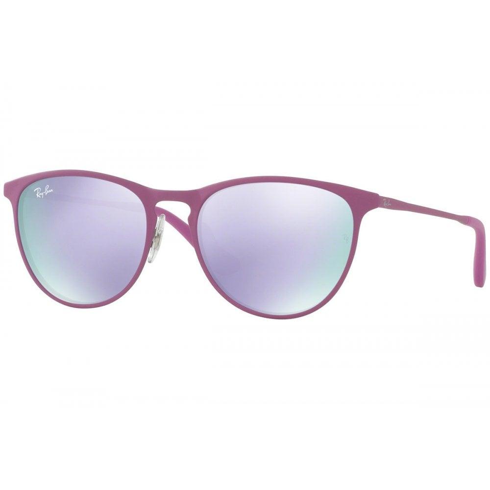 ff53c99d1 Ray-Ban Erika Metal Junior Sunglasses Pink RJ9538S 254/4V