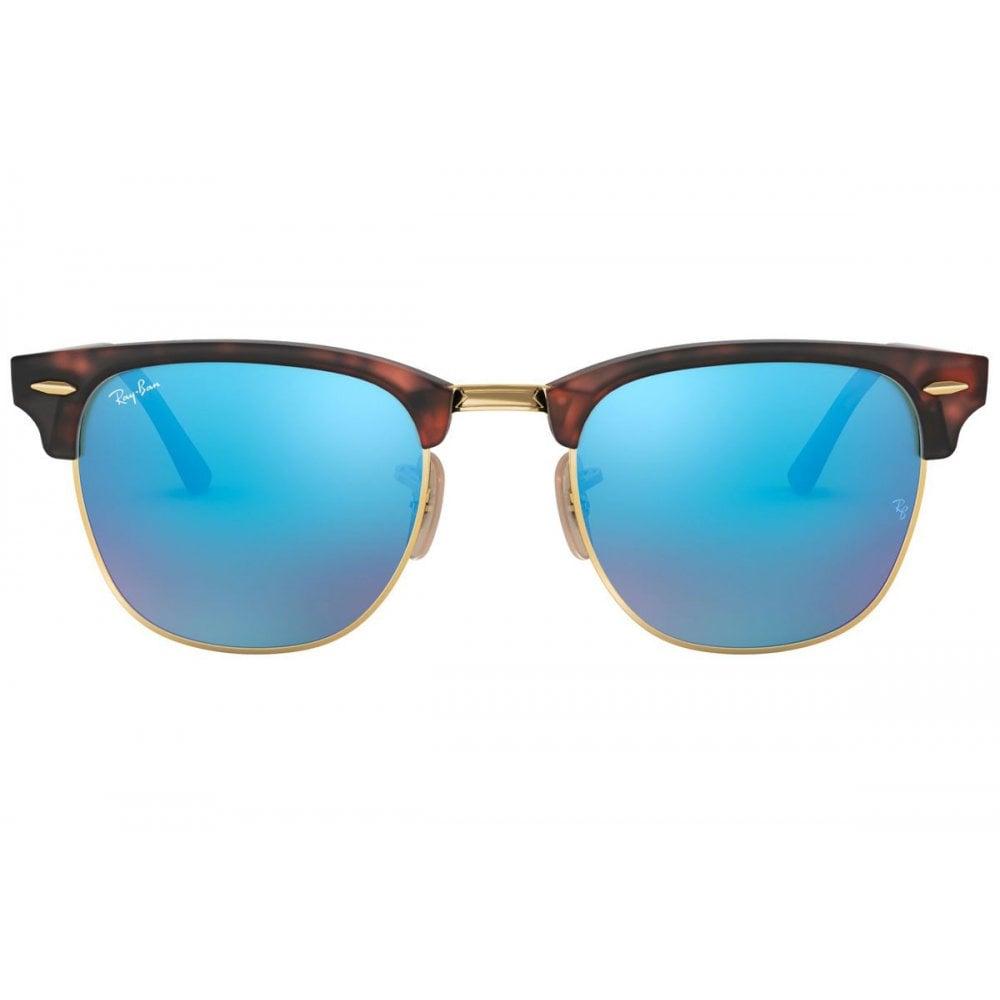 c265c3eb5103 Ray-Ban Clubmaster Sunglasses Sand Havana/Gold RB3016 114517 Small