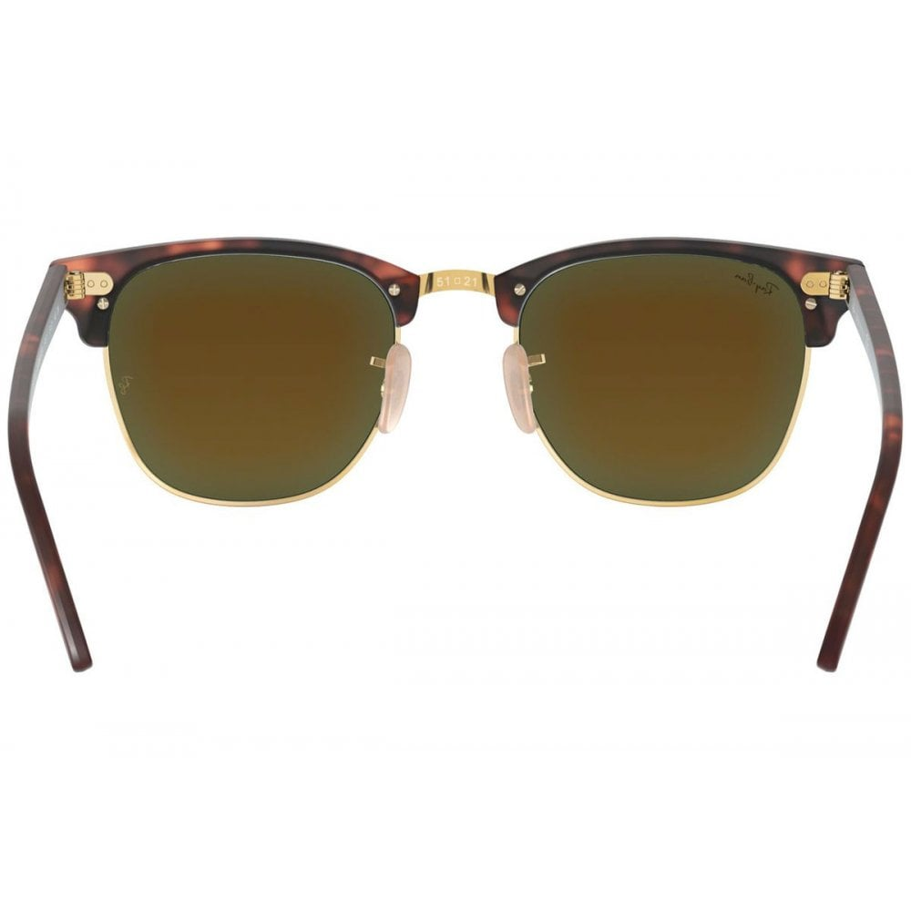 c265c3eb5103 Ray-Ban Clubmaster Sunglasses Sand Havana/Gold RB3016 114517 Small