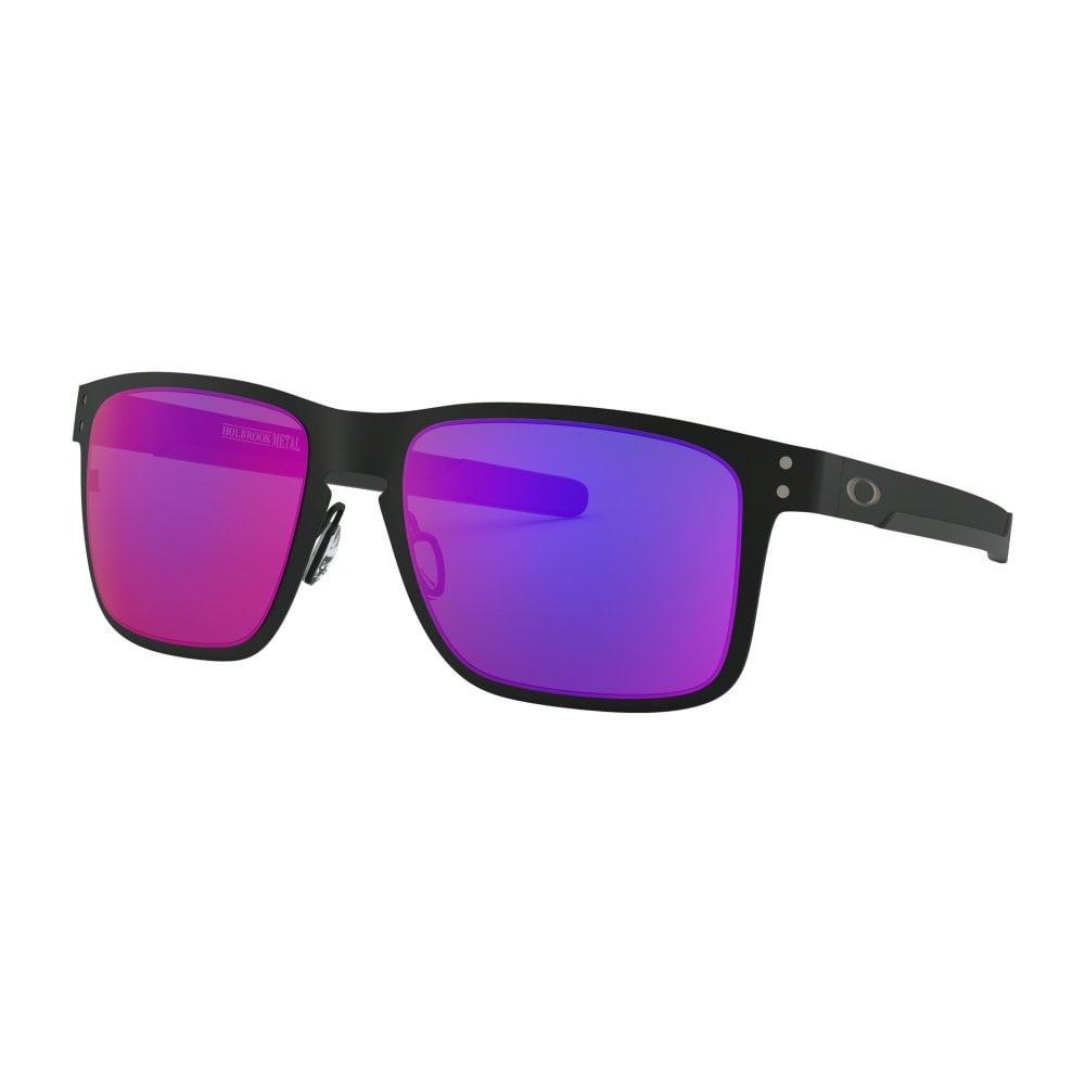 3b4d8cccb95 Oakley Holbrook Metal Sunglasses Matte Black OO4123-02