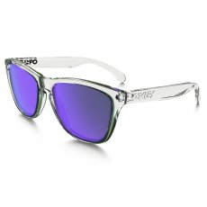 7ef29b5ac4 Oakley Frogskins Sunglasses Polished Clear OO9013-A4