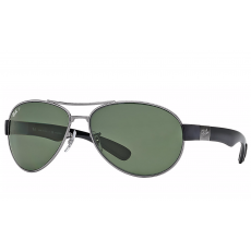 7eb6a5caf8b72 Polarized Ray-Ban Aviator Classic Sunglasses Gunmetal RB3025 004 5858