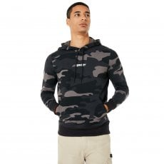 STREET LOGO HOODED CAMO FLEECE CAMO