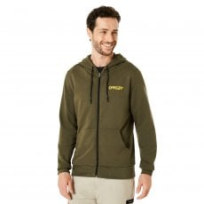 FLEECE OAKLEY LOOP ZIPPED