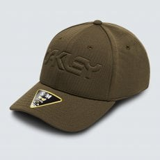 6 PANEL STRETCH HAT EMBOSSED