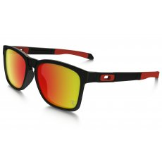 850b1e6ac0 CATALYST.   12 colours. Oakley CATALYST. Scuderia Ferrari Collection. Matte  Black with Ruby Iridium ...