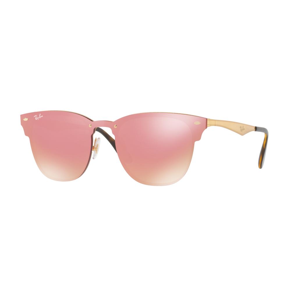 c1f62f939a Ray-Ban Blaze Clubmaster Sunglasses Gold RB3576N 043 E4