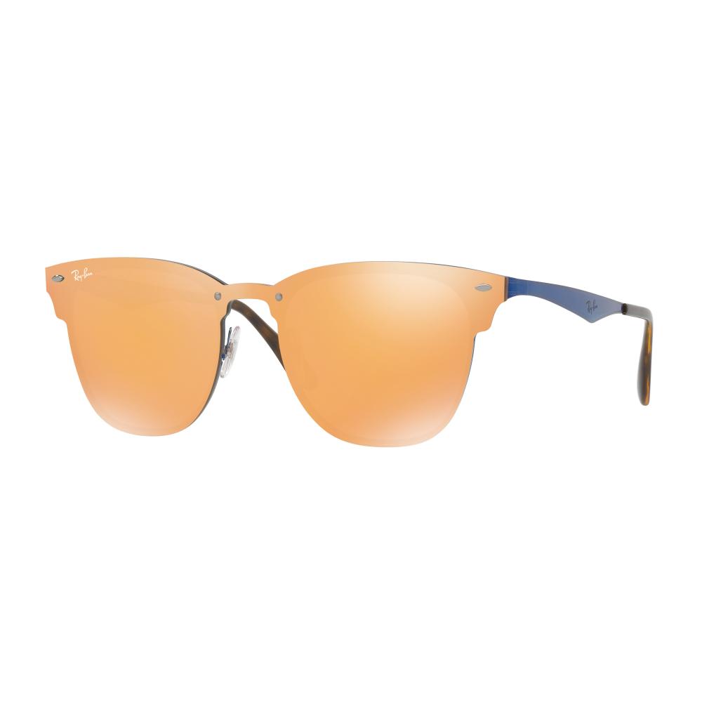 8c8c4ddc84 Ray-Ban Blaze Clubmaster Sunglasses Blue RB3576N 90377J