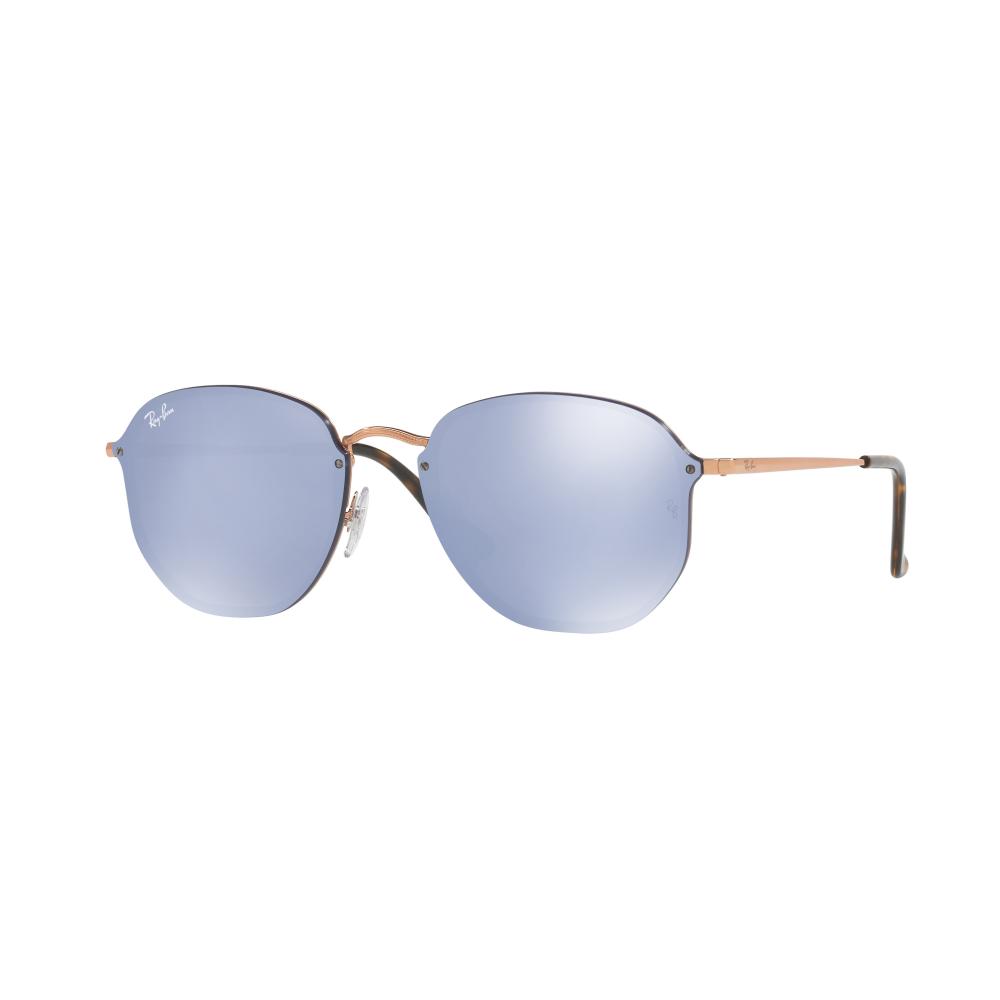 2442ad3bec Ray-Ban Blaze Hexagonal Sunglasses Gold RB3579N 001 E4