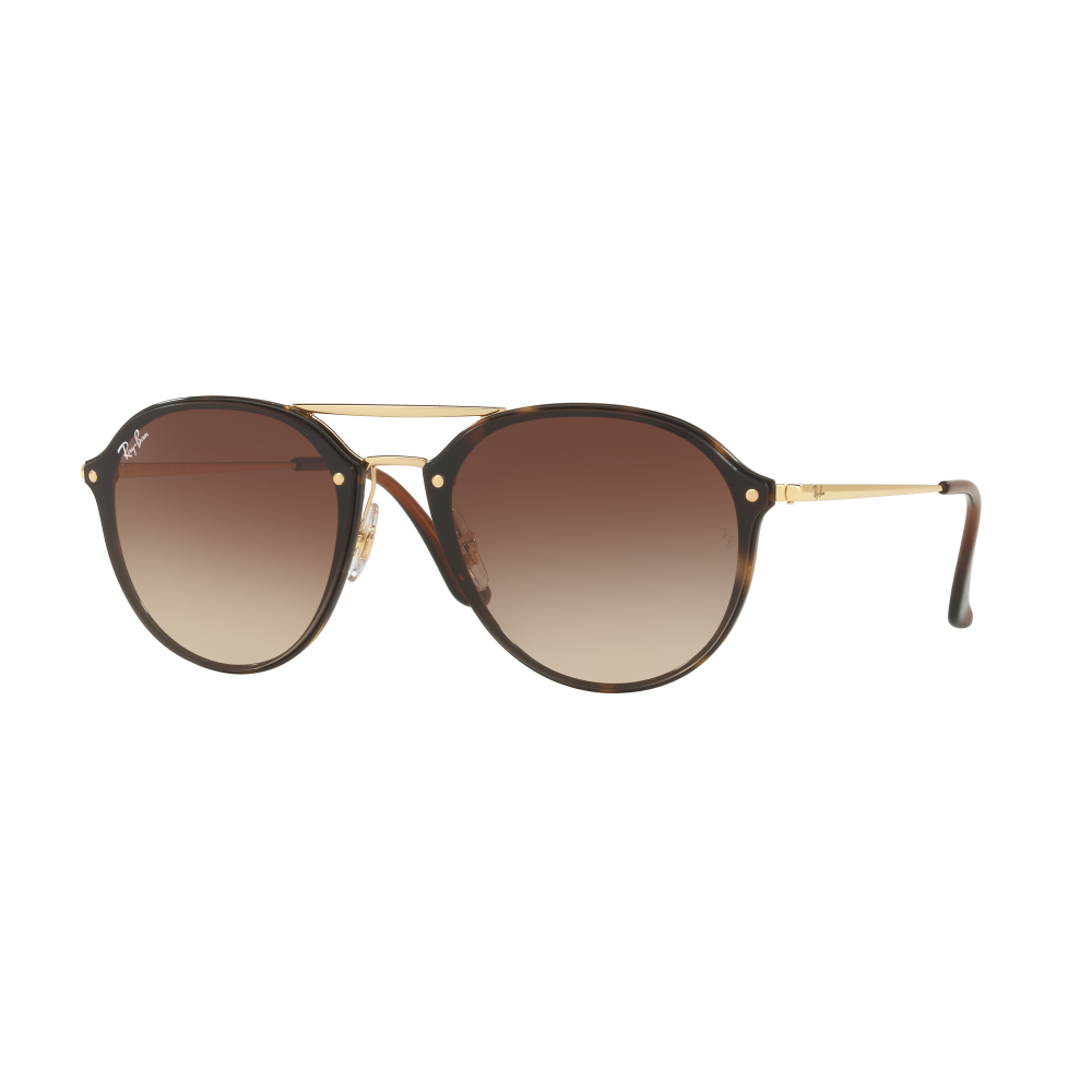 bf75870346e Ray-Ban Round Double Bridge Sunglasses Tortoise Gold RB4292N 710 13